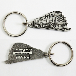 Custom Pewter Key Tag