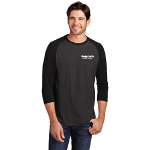 District ® Perfect Tri ® 3/4-Sleeve Raglan