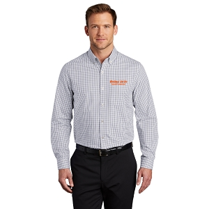 Port Authority ® Broadcloth Gingham Easy Care Shirt