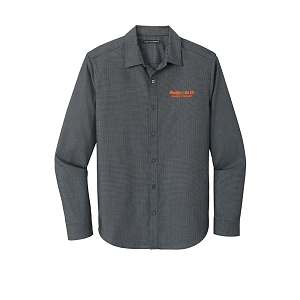 Port Authority ® Pincheck Easy Care Shirt