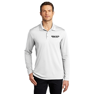 Port Authority ® Dry Zone ® UV Micro-Mesh Long Sleeve Polo