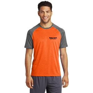 Sport-Tek® Heather-On-Heather Contender™ Tee
