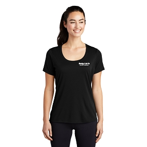 Sport-Tek ® Ladies Posi-UV ™ Pro Scoop Neck Tee