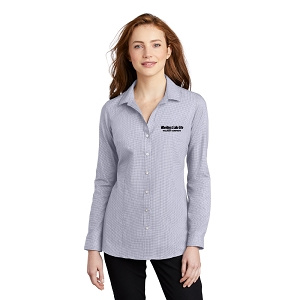 Port Authority ® Ladies Pincheck Easy Care Shirt