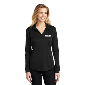Port Authority ® Ladies Silk Touch™ Performance Long Sleeve Polo