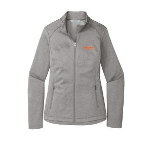 Port Authority ® Ladies Diamond Heather Fleece Full-Zip Jacket