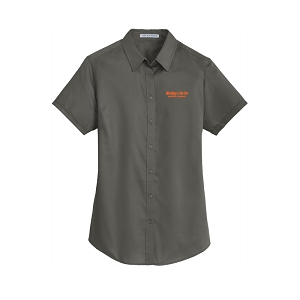 Port Authority® Ladies Short Sleeve SuperPro™ Twill Shirt