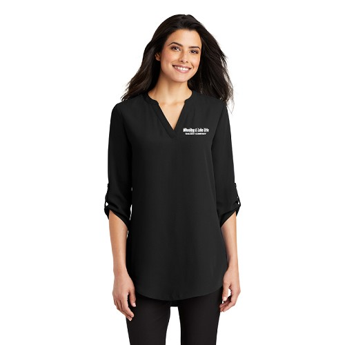 Port Authority ® Ladies 3/4-Sleeve Tunic Blouse
