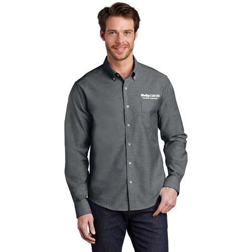 Port Authority ® Untucked Fit SuperPro ™ Oxford Shirt